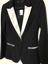 Dotti BRAND NEW Black Blazer Jacket Size 6