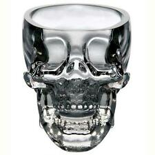 New Crystal Skull Head Vodka Whiskey Shot Glass Cup Drinking Ware Home Bar GH
