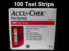 Accu Chek Performa 100 Test Strips - Long Expiry - Made in USA Free Shipping