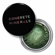 Concrete Minerals Swamped Deep Green Gold Mineral Eyeshadow Makeup Cruelty Free