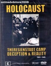 HOLOCAUST - THERESIENSTADT CAMP - DECEPTION & REALITY - DVD NEW SEALED Region 4