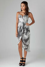 BNWT RRP$550 Zimmermann size 3 (14) Tempo Cloud Plunge Drape Dress