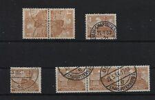 Berlin 43 Plattenfehler I, II, III und IV, komplett, gestempelt (B05609)