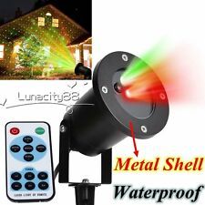 Star Projector Laser Lights Waterproof Shower Dancing Motion Xmas Light + Remote