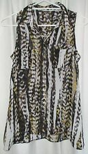 Ladies Gorgeous Animal Print Sleeveless Top size 8 by KATIES