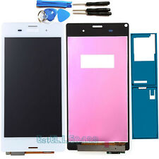 White Replacement For Sony Xperia Z3 Touch Screen Digitizer LCD Display +Sticker