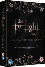 THE TWILIGHT SAGA Complete 1 2 3 4 5 Film Collection Boxset NEW DVD