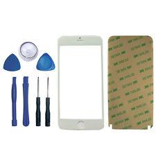 iPhone 6S Plus Frontglas Weiß Scheibe Bildschirm Display LCD White Original +