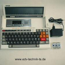 Epson PX-8 CPM2.2B-System, 64KB, Beide Akkus neu! Guter Zustand! 1 Jahr Gewähr.