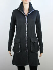 NEW Firetrap Womens Size S 6 8 Heavyweight Knitted Wool Coat