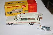 DINKY TOYS 263 * CADILLAC SUPERIOR AMBULANCE  * OVP & TOP