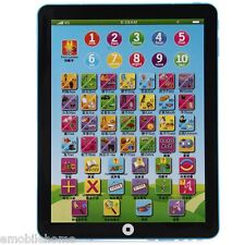 Kids Children English Learning Pad Toy Educational Computer Tablet Blue