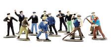 OO Figures - 39 Railway Workmen (station, trackside, etc.) Dapol C002 free post