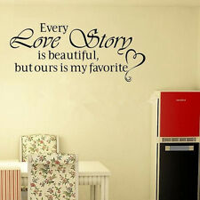 Family DIY Quote Removable Art Wall Sticker Mirror Decal Mural Home Kids Decor