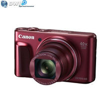 BRAND NEW CANON POWERSHOT SX720 HS DIGITAL CAMERA RED 20.3MP FULL HD VIDEO