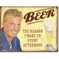 Beer Metal Tin Sign Distressed Retro Wall Art Funny Vintage Home Bar Pub Decor