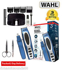 Wahl 5598-1517 Mens Rechargeable Definer Beard Stubble Ear Nose Trimmer Gift Set