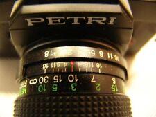 Spiegelreflexkamera Petri mit viel Zubehör analog