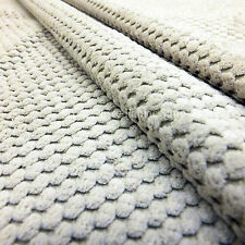 New Soft Corduroy Cord Texture Upholstery Curtain Interior Cream Quality Fabric