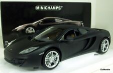 MINICHAMPS 1/18 - 110 133024 MCLAREN MP4-12C 2011 DIECAST MODEL IN MATT GREY