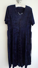 Vintage navy blue dress, size UK16, good condition