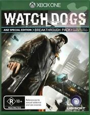 Watch Dogs Special Edition Complete Edition Xbox One NEW BLACK FRIDAY SPECIAL