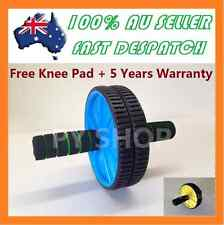 AB Abdominal Waist Workout Exercise Gym Fitness Wheel Roller Wheels and Knee Pad