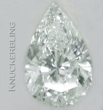 4.01ct Certificated Diamond D Colour VS1 Clarity VG Pear Shape Loose Solitaire