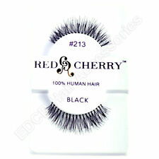 NEW Red Cherry 100% HUMAN HAIR False Lashes ** Natural Looking Styles** #213