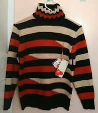 RRP $119.95 New 100% Wool & Cashmere Womens Turtleneck Jumper