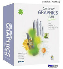 CorelDRAW 11 Graphics Suite + Photo Paint 11 Deutsche Vollversion OEM OVP NEU