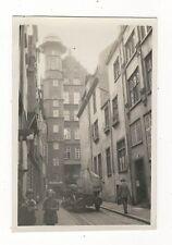 7/703 FOTO DANZIG 1928 GOLDSCHMIEDEGASSE BIERWAGEN WERBUNG DANZIGER...BRAUEREI