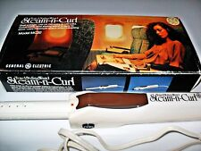 VINTAGE GE GENERAL ELECTRIC STEAM N CURLING IRON TOUCH'N CURL HAIR STYLING WAND