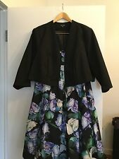 City Chic, Size XL, Bolero, Worn Once, Lined, Flattering, Excellent Quality