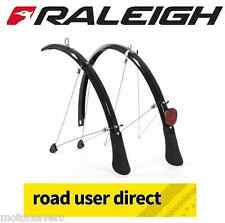 """Raleigh 26"""" Mountain Bike Mudguards BLACK (26 x 60mm) 212 Inc Tracked Courier"""