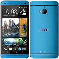 New HTC One M7 - 32GB 3G,LTE WIFI Unlocked 4.7'' Android Original box-Blue UK/EU