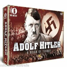 ADOLF HITLER A REIGN OF TERROR COMPLETE DOCUMENTARIES COLLECTION NEW 6 DVD R4