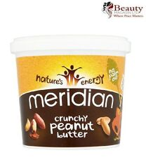 Meridian Crunchy Peanut Butter 1kg **100% Nuts + No Palm Oil**