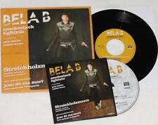 "BELA B SMOKESTACK LIGHTNIN' Streichholzmann 7"" Vinyl CD Limited Edition * RAR"