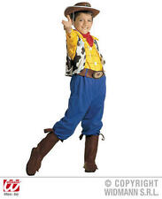 Childrens Woody Fancy Dress Costume Toy Story Cowboy Outfit 140Cm