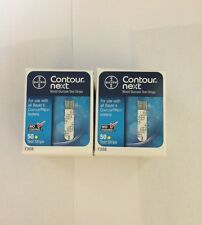 Bayer Contour Next 100 Blood Glucose Test Strips Exp: 02/2018 FREE SHIPPING