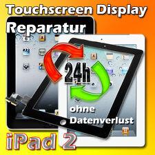 iPad 2 Touchscreen Display Glas Scheibe Reparatur Austausch Schwarz 24 St.