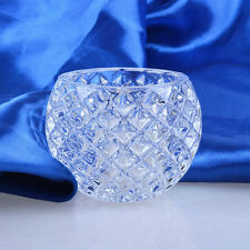 Glass Crystal Votive Candle Holders Tea Light Holder Wedding Decor Centerpieces