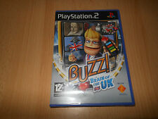 PlayStation 2 Ps2 BUZZ Brain Of The Uk NEW SEALED