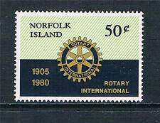 Norfolk Is 1980 Rotary International SG 235 MNH