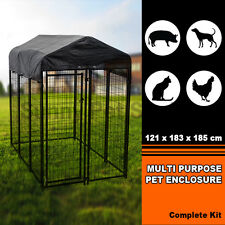 Multi Purpose Pet Enclosure American Kennel Uptown Premium Steel Boxed Playpen