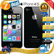 (NEW SEALED BOX) APPLE iPHONE 4S 64GB BLACK 100% UNLOCKED + 12MTH AUS WARRANTY