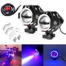 2x Zusatzscheinwerfer Motorrad LED CREE U7 125W Scheinwerfer Fernlicht Lampe