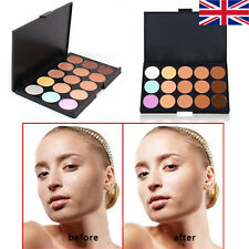 15 Color Contour Makeup Concealer Face Powder Camouflage Palette Set Kit UK STOC