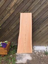 Baumscheibe, Massivholz Tischplatte, Bartresen, unbesäumt, Handwerk, Lärche200cm